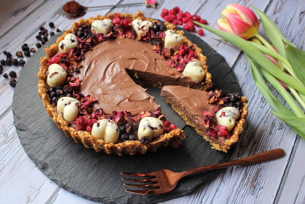 Torta de Namorados com Chocolate Duplo - SpamellaB's Health Food Blog 2