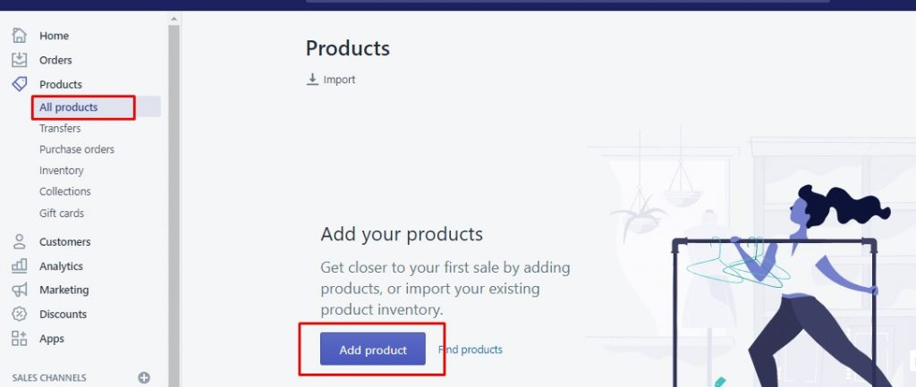 how-to-set-up-shopify-store-theme-collection-product